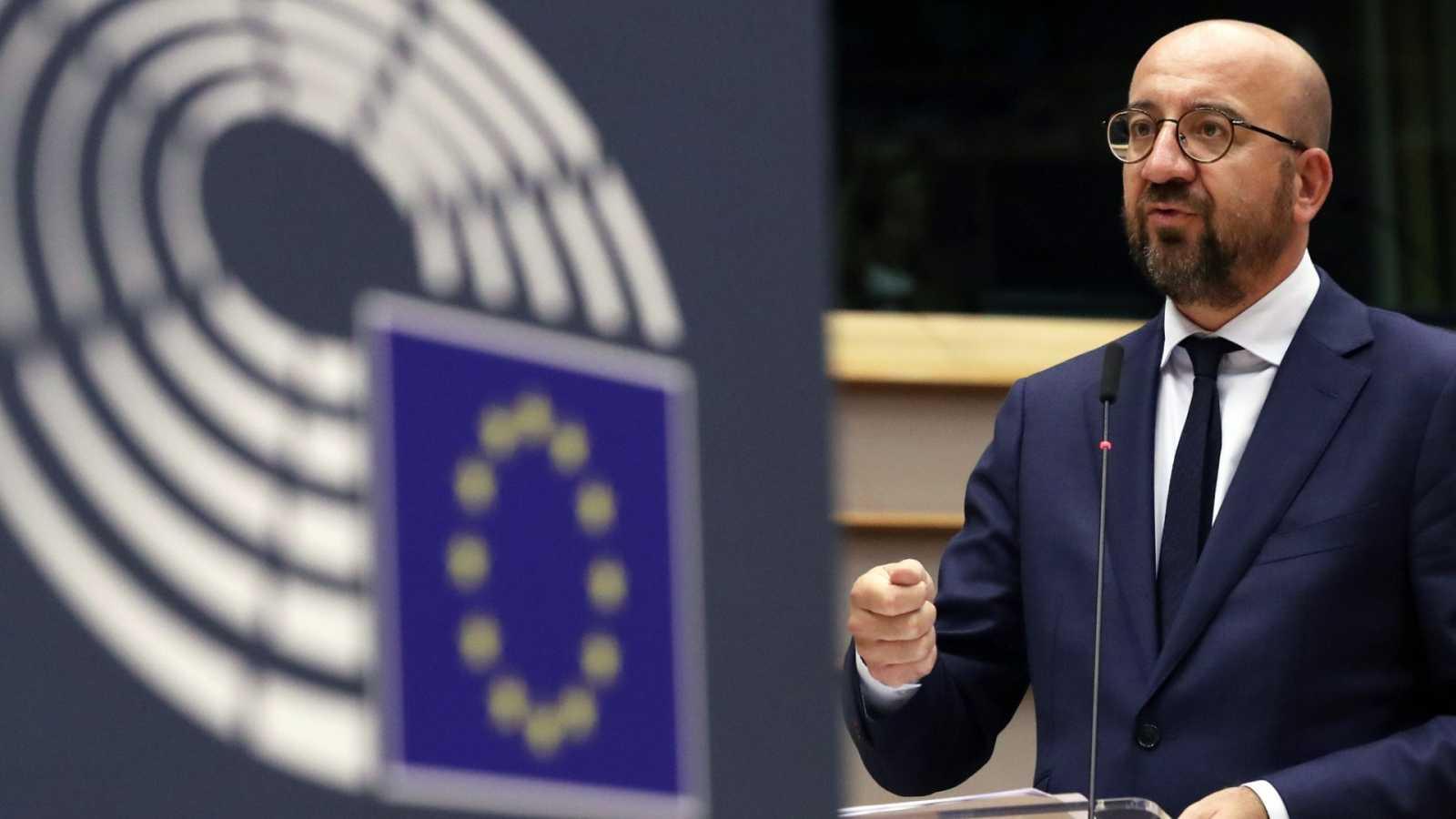 Michel propone reducir el presupuesto un 2 % y mantener un fondo de 750.000 millones