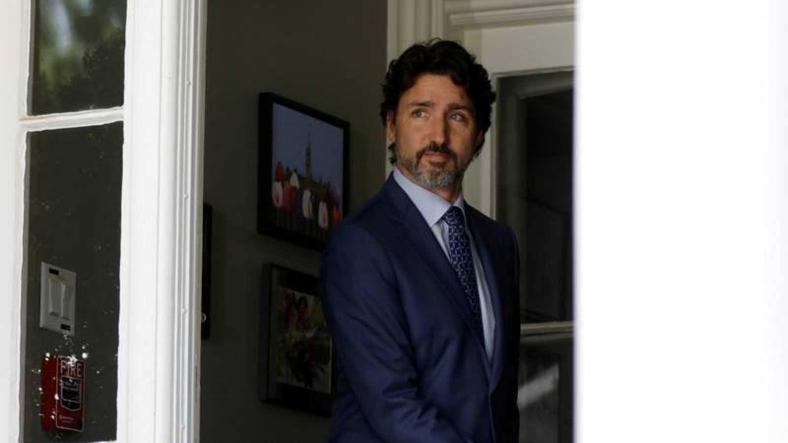 El primer ministro de Canadá, Justin Trudeau, en Ottawa