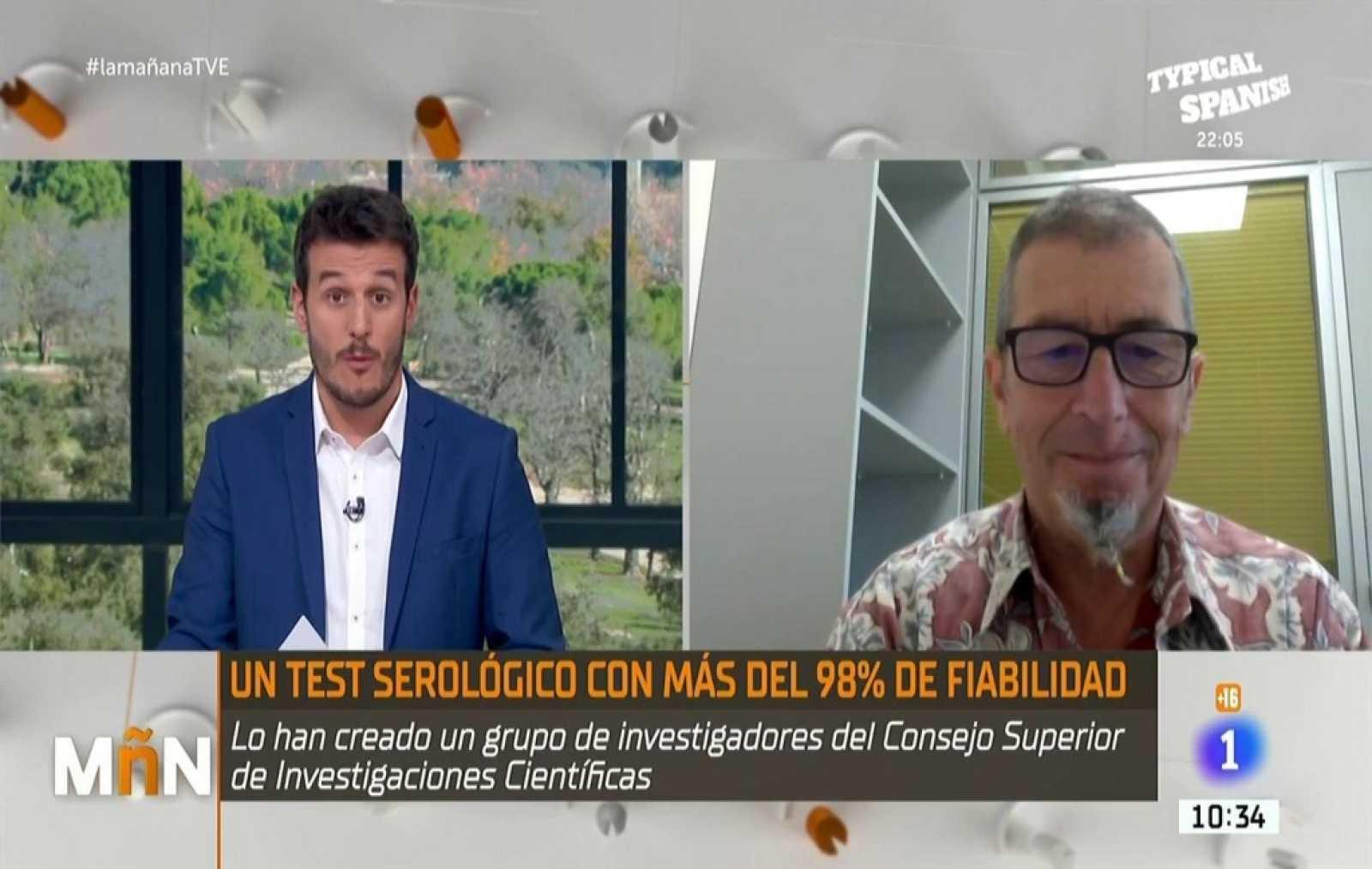 La Mañana -  El CSIC presenta un nuevo test de anticuerpos