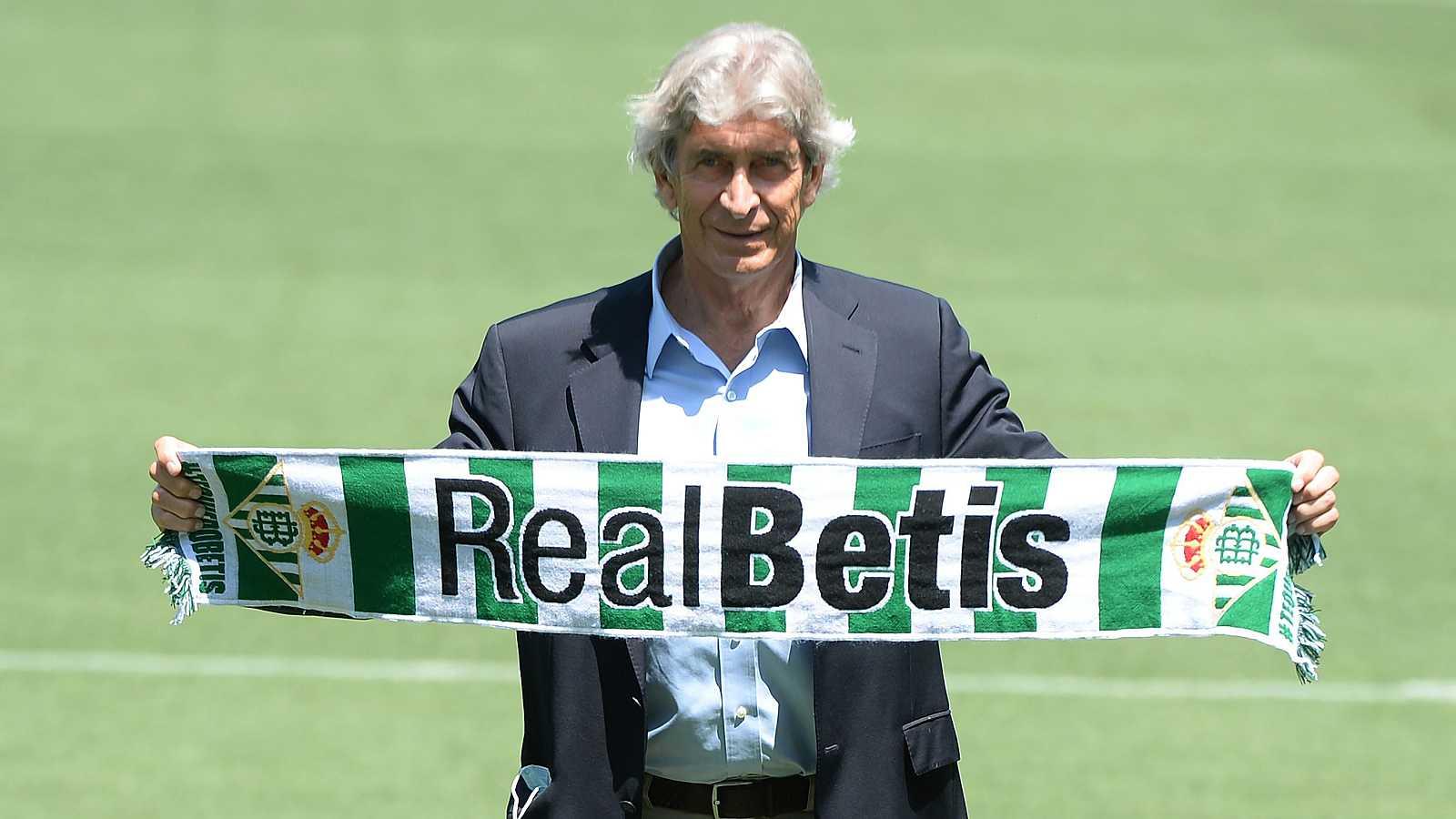 Pellegrini, presentado como técnico del Betis