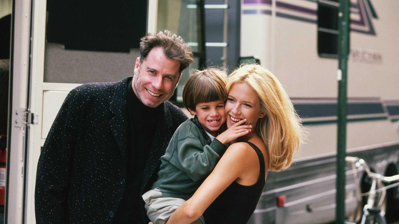 John Travolta junto a su hijo, Jett, y su mujer, Kelly Preston, arrebatados por la enfermedad