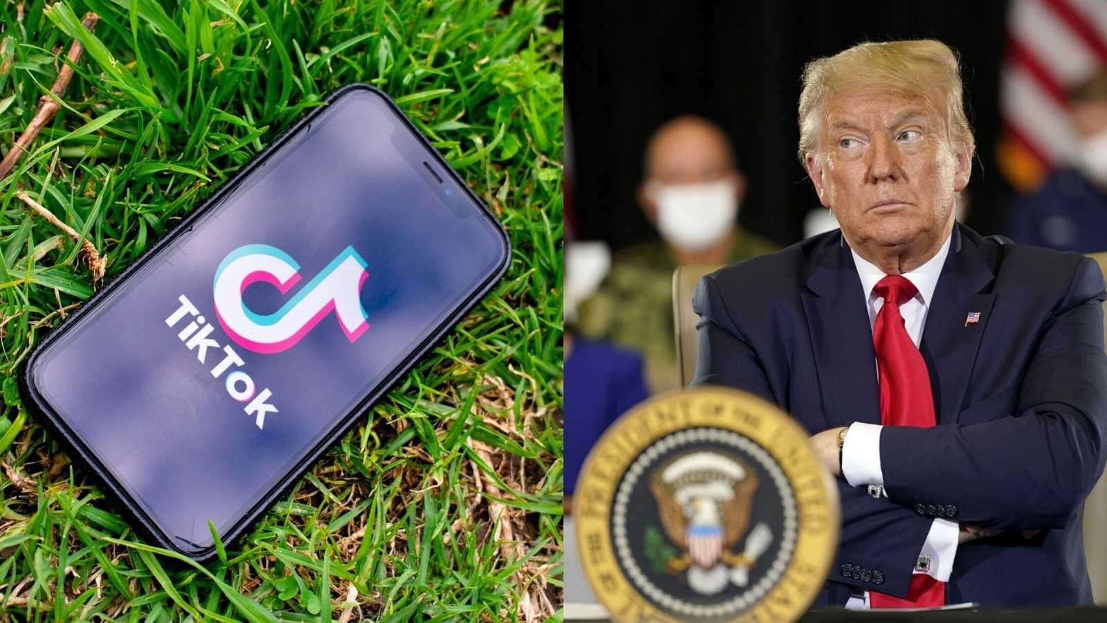 Usuarios de TikTok boicotean la app oficial de Trump - PLAYZ