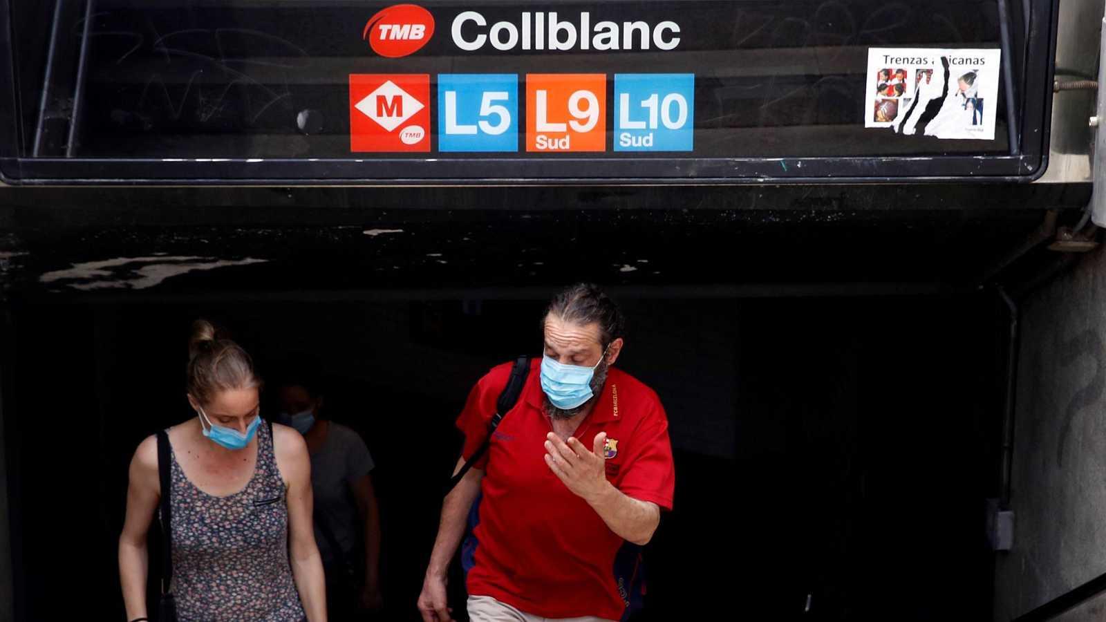 La Generaliat ha impuesto restricciones frente al coronavirus en los barrios de Collblanc, La Torrassa y Florida de L'Hospitalet de Llobregat