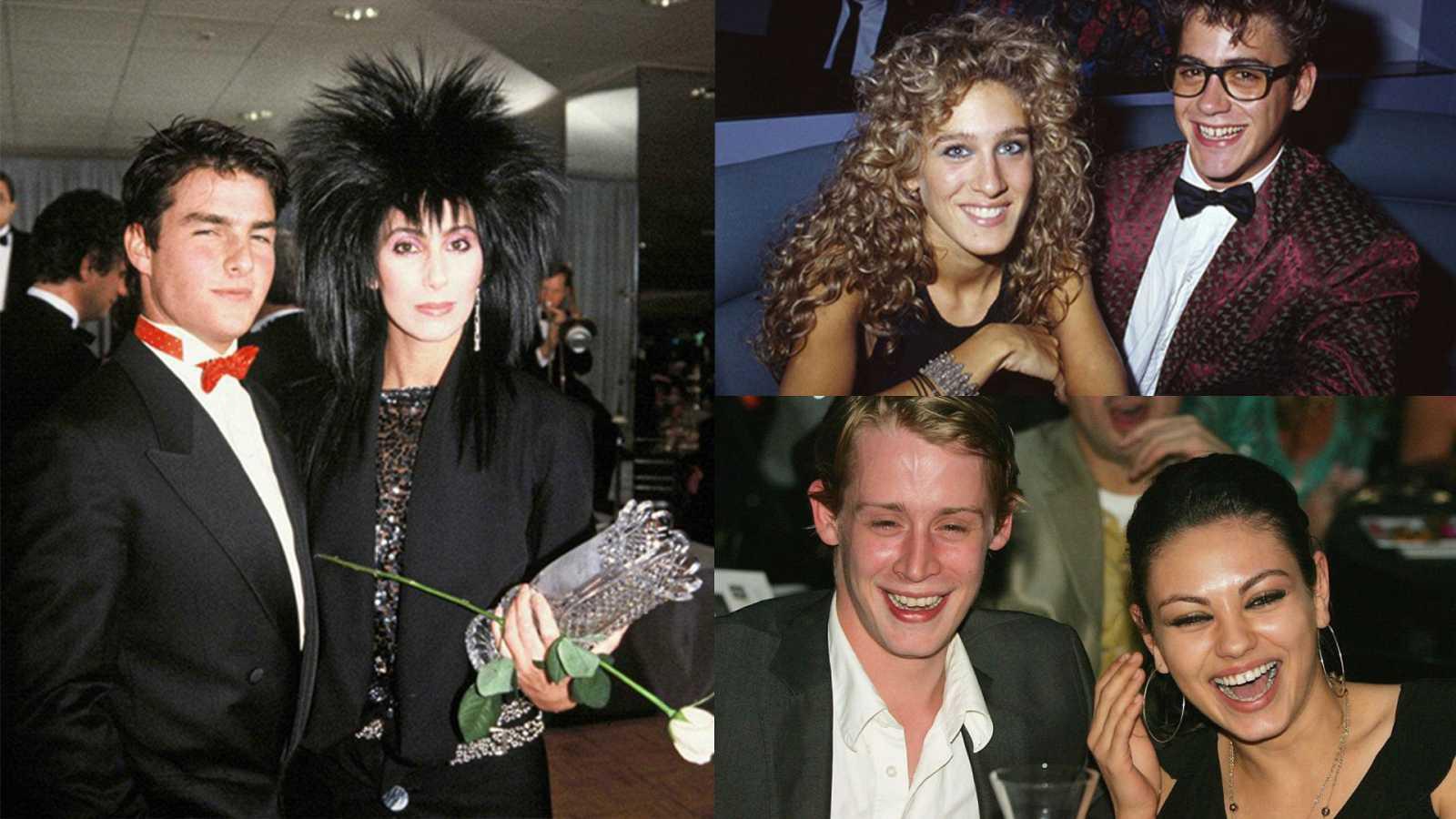 Tom Cruise y Cher, Sarah Jessica Parker y Robert Downey Jr. o Mila Kunis y Macaulay Culkin, parejas para el recuerdo
