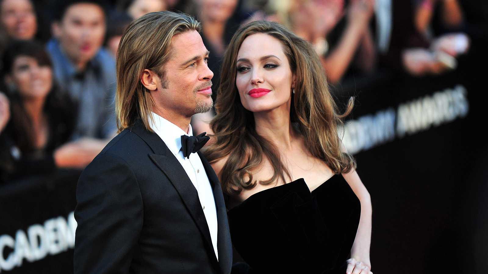 Brad Pitt y Angelina Jolie, otros de los matrimonios de hierro del mundo de las estrellas
