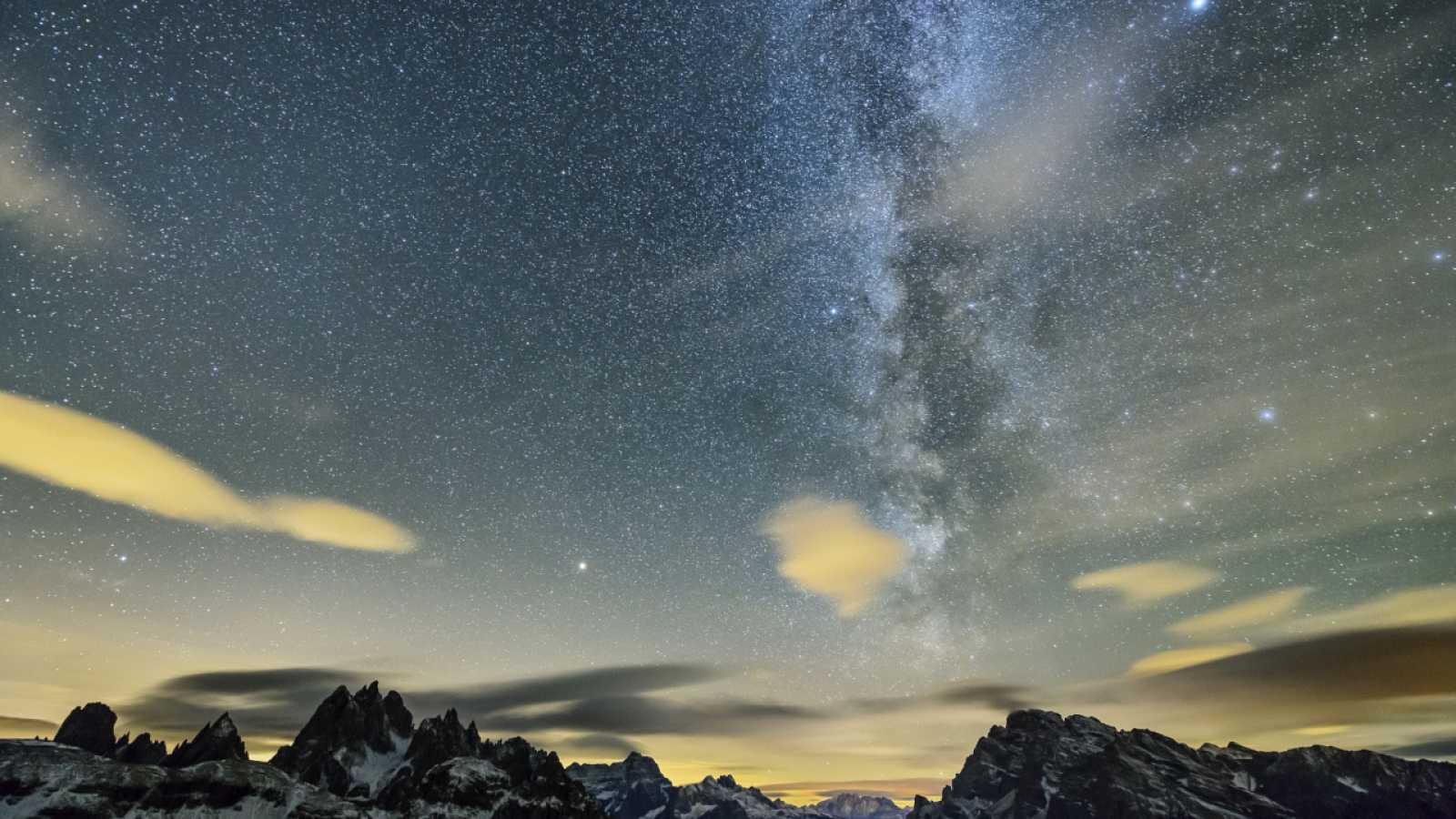 Aquí la Tierra - La Via Láctea