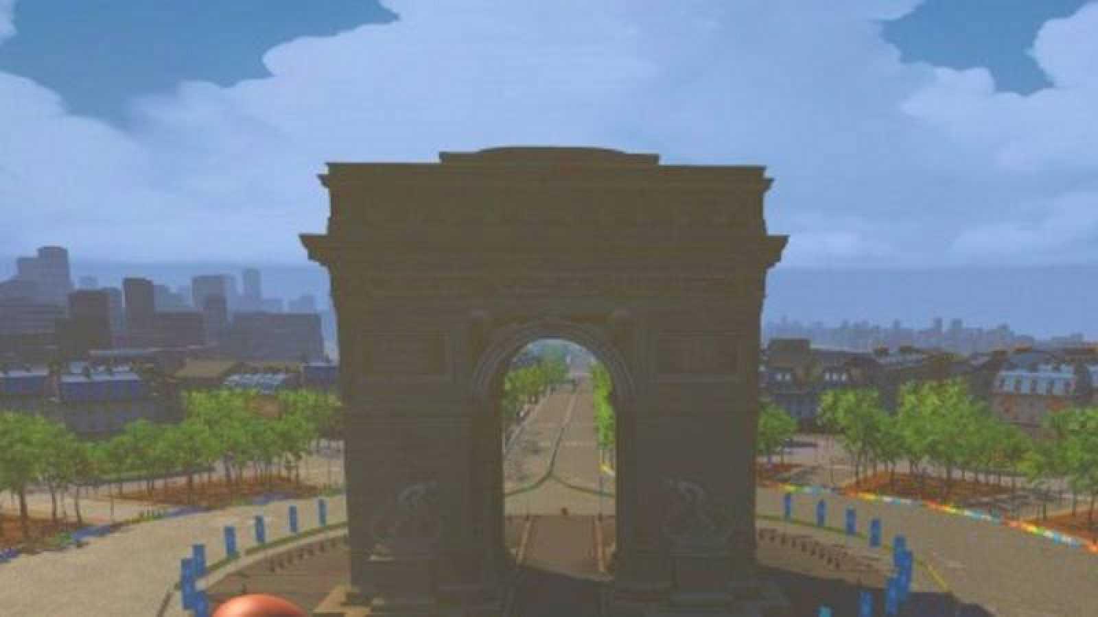 El Tour virtual llega a los Campos Elíseos.