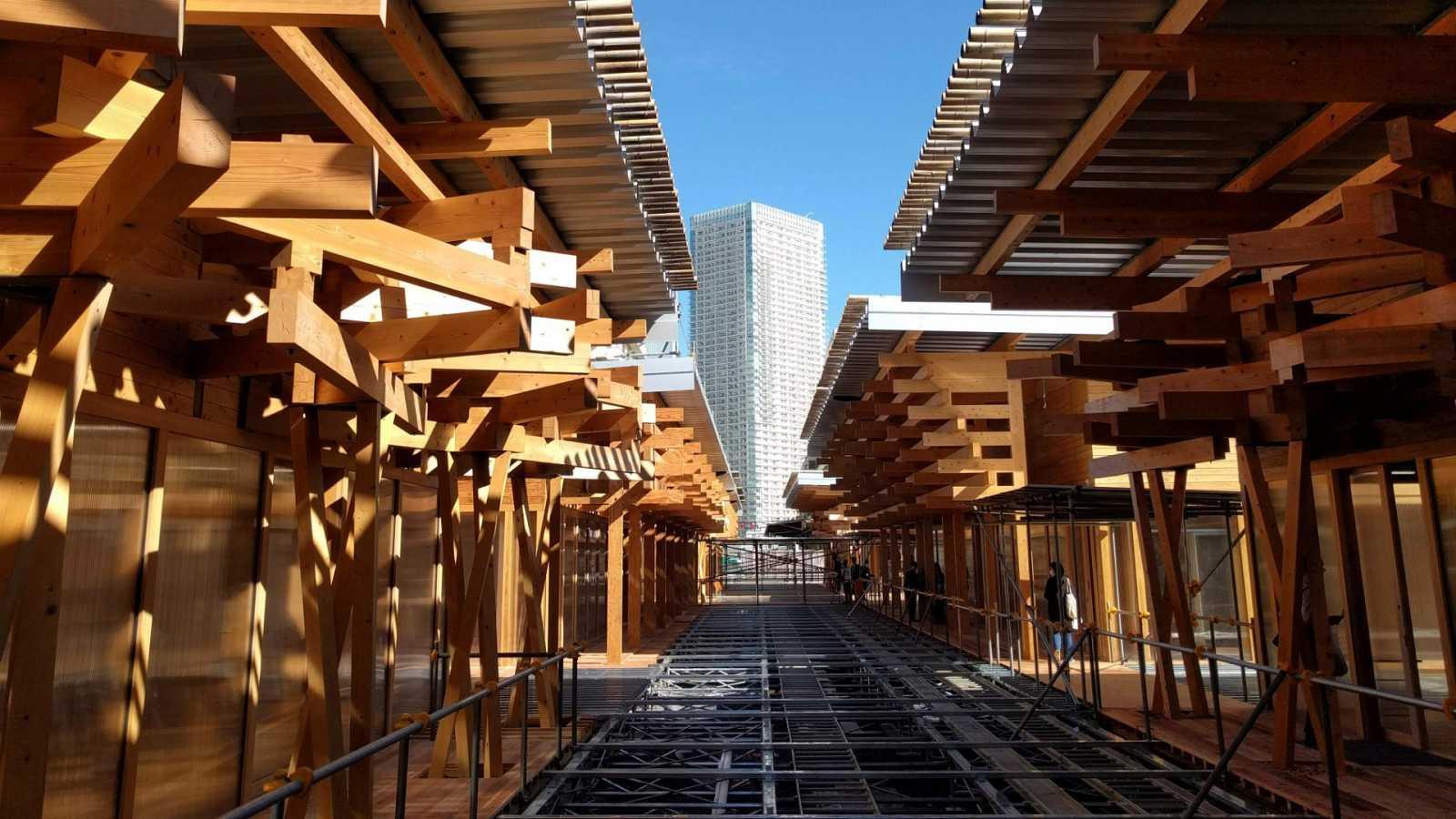 Imagen de la Villa Olímpica de Tokio