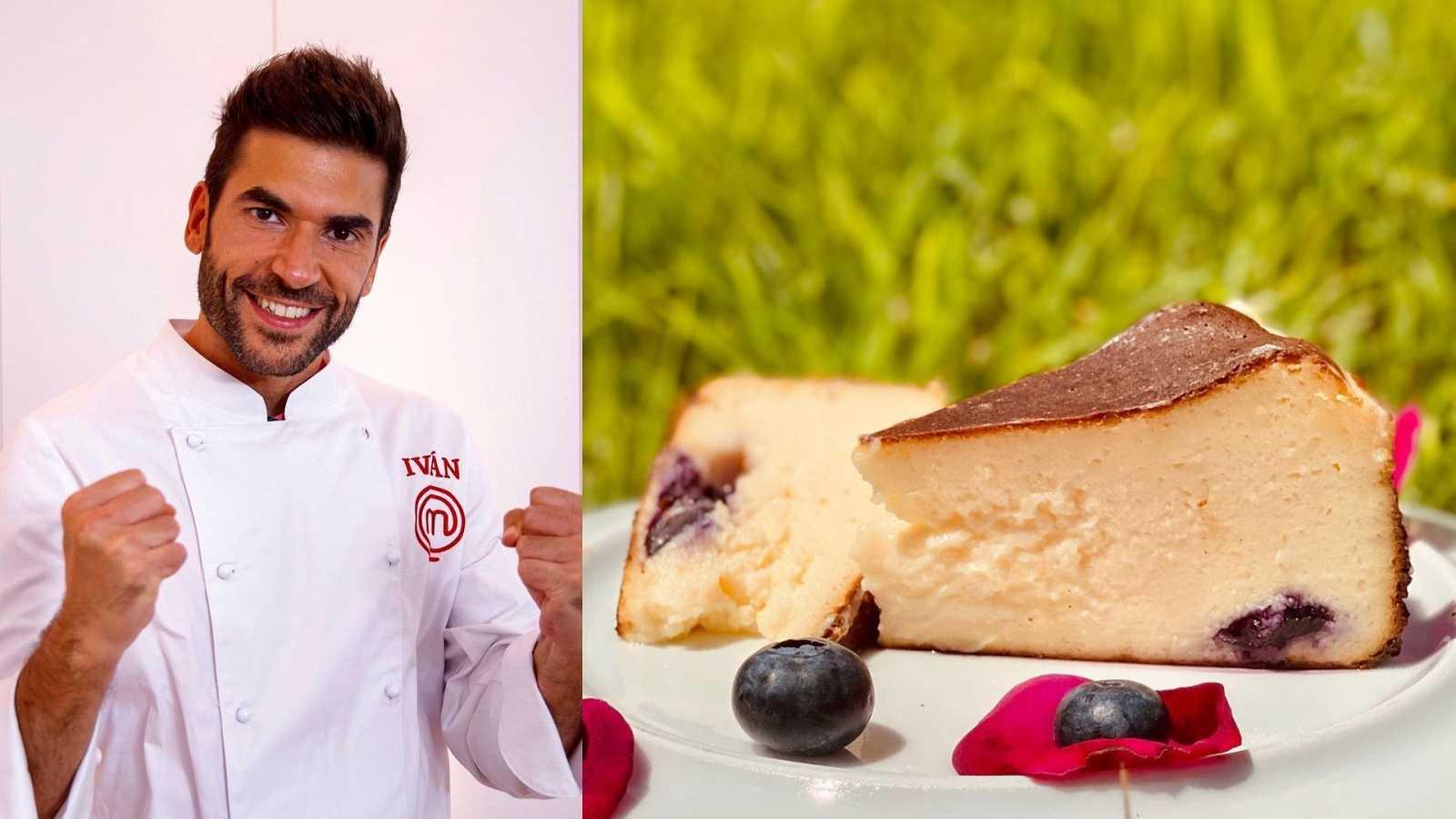 Tarta de queso de Iván de MasterChef
