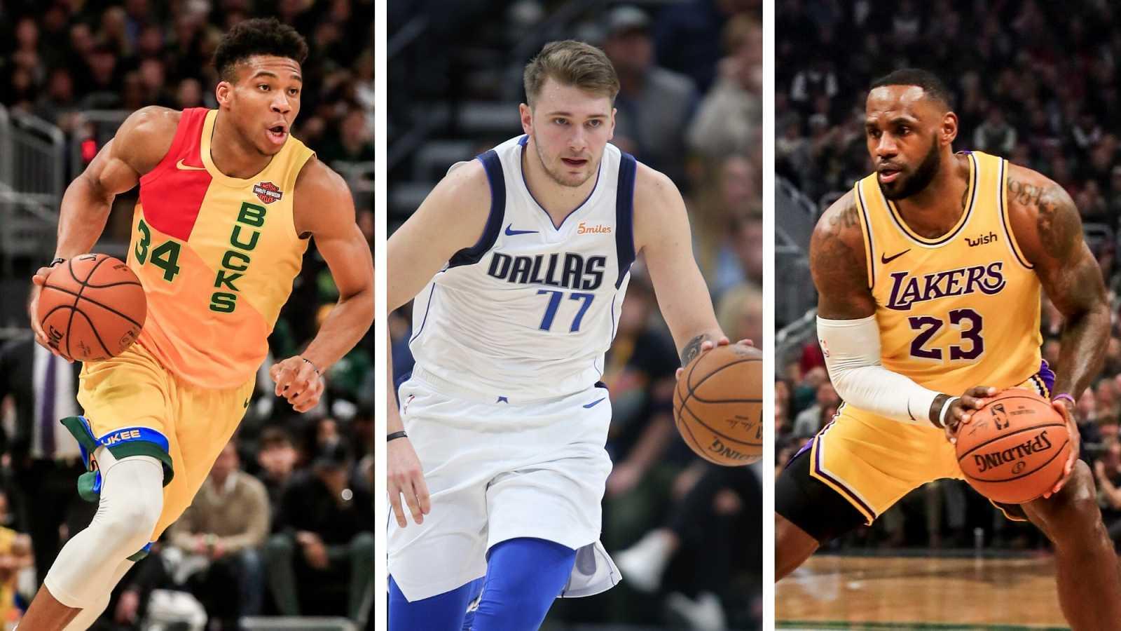 'Anteto', James o Doncic, las estrellas de la NBA en Disney