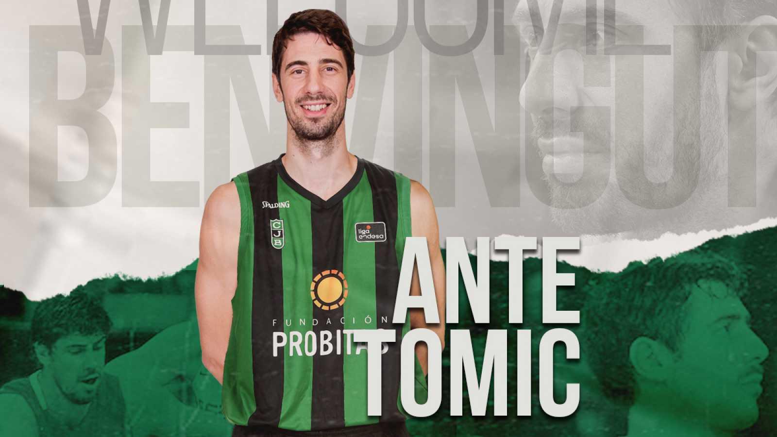 Ante Tomic, nuevo jugador de la 'Penya'