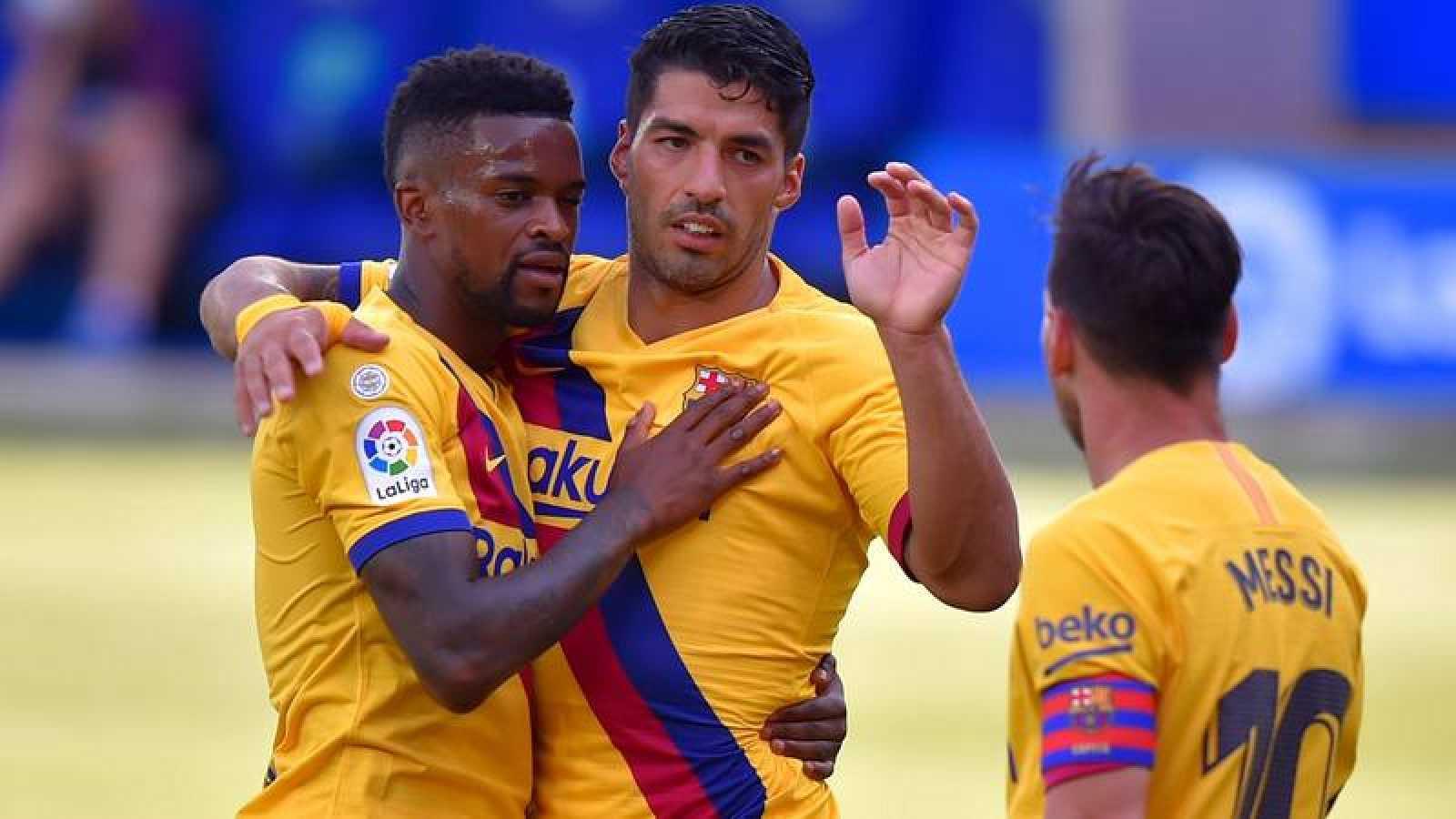 El Barça ha goleado al Alavés en su despedida de la Liga.
