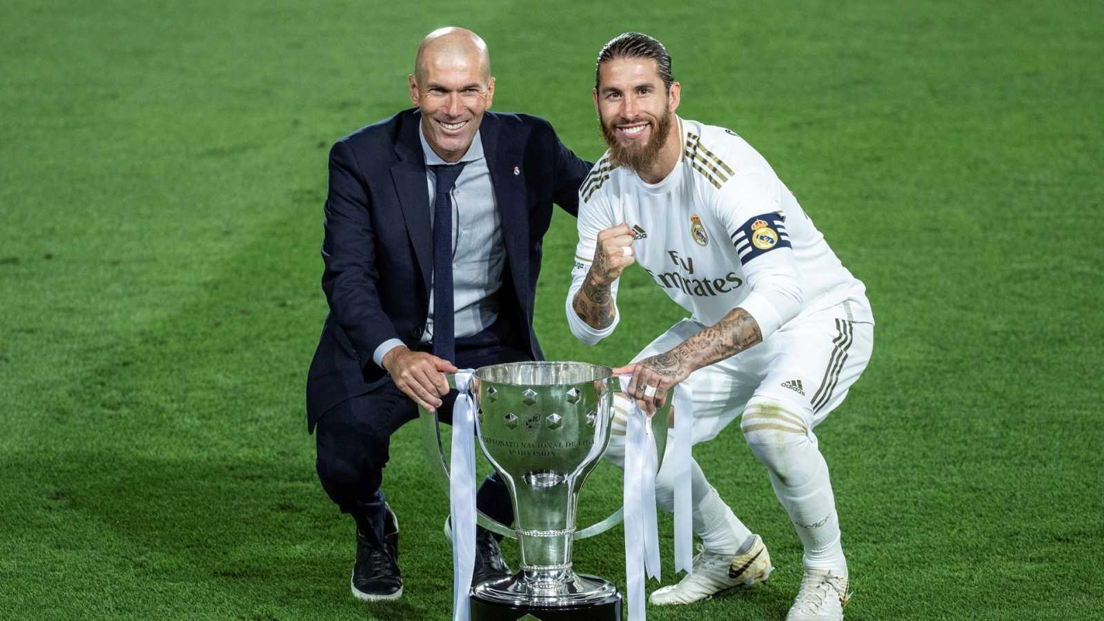 La Liga 34 del Madrid