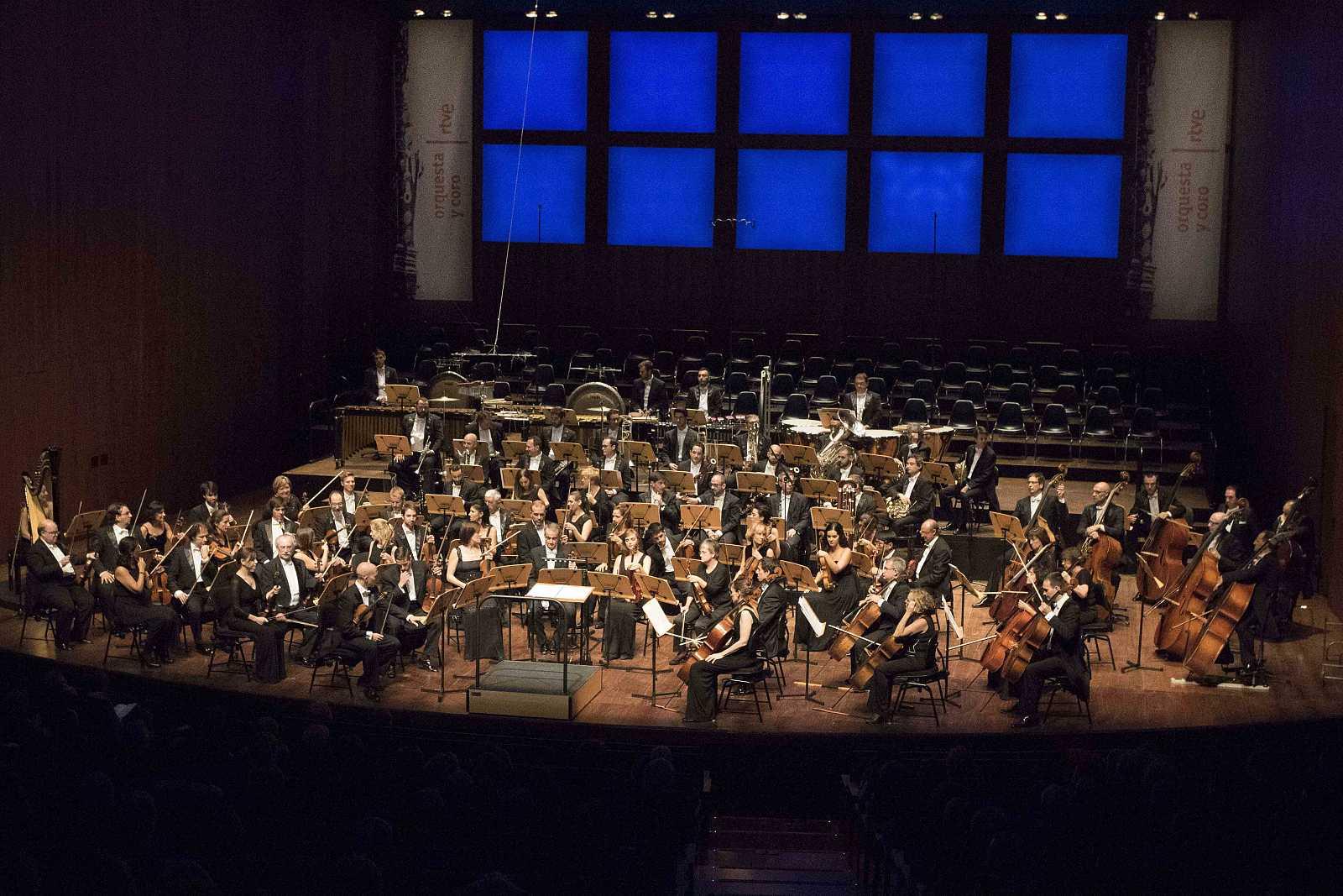 La Orquesta RTVE en el Auditorio de San Lorenzo de El Escorial