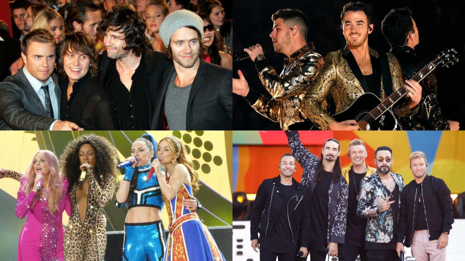 Take That, Backstreet Boys, Jonas Brothers, Spice Girls y... ¿One Direction? Así han sido los comebacks más sonados de la historia