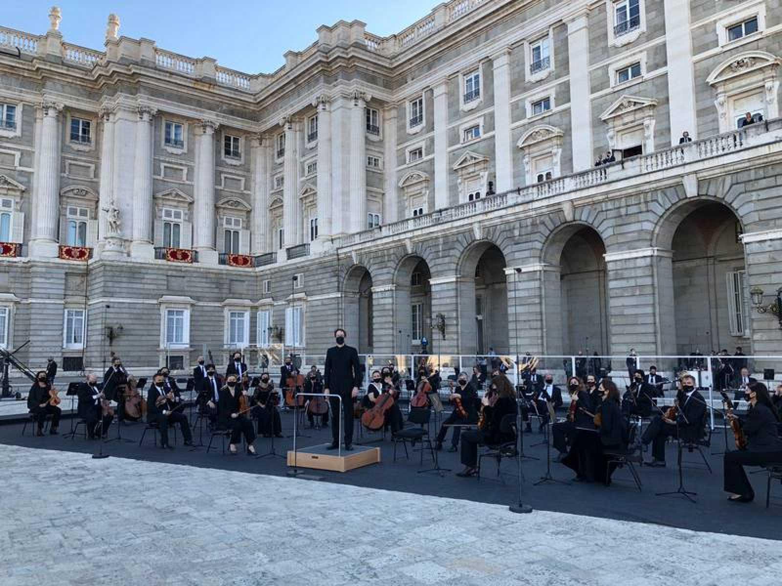 La Orquesta y Coro RTVE en el Palacio Real