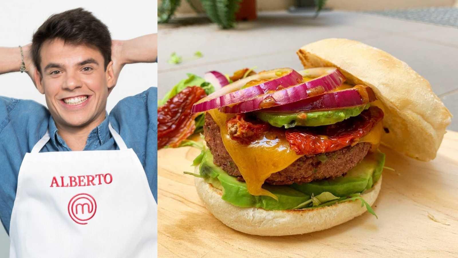 Alberto de MasterChef te enseña a hacer una hamburguesa vegetariana