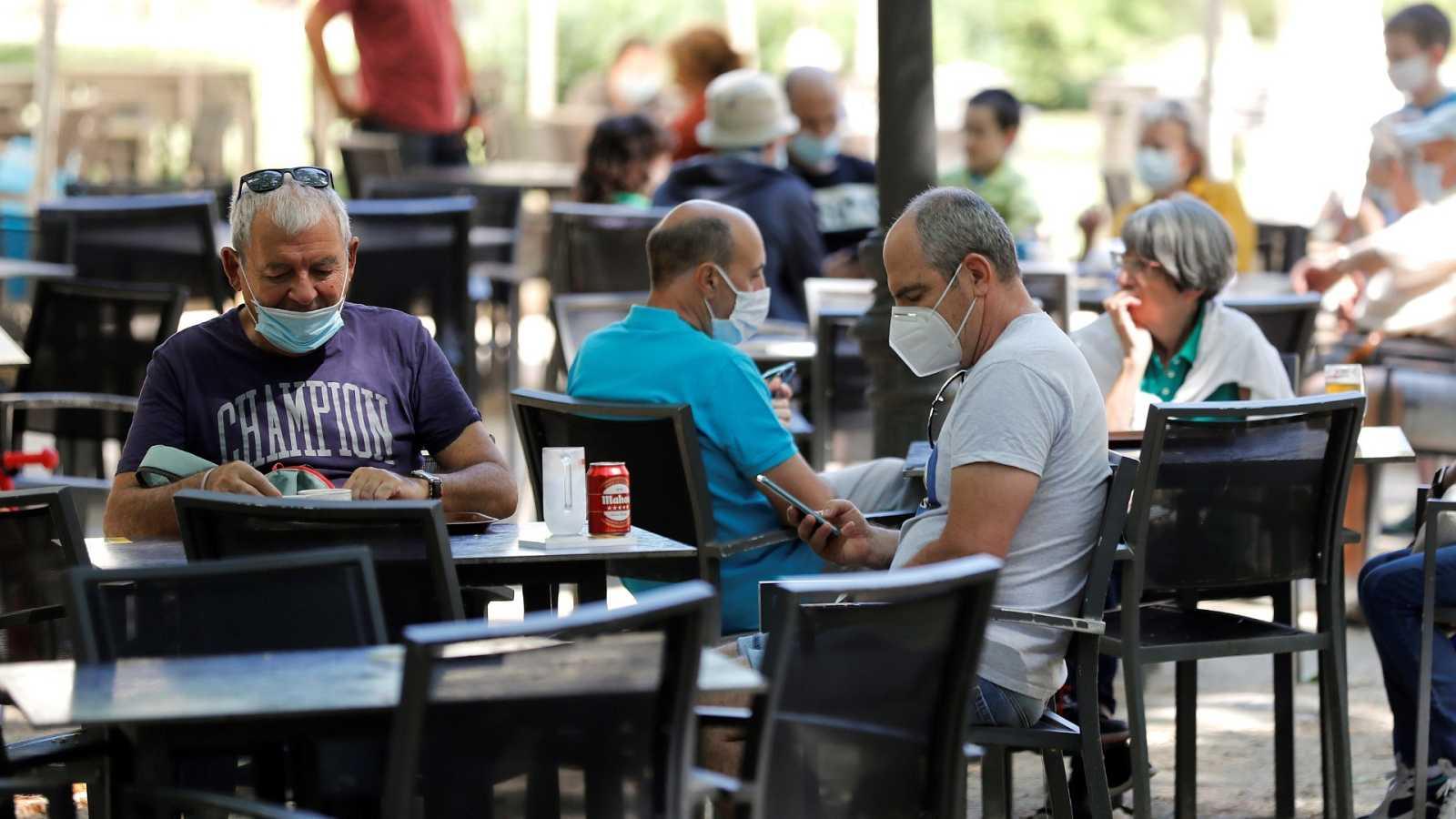 Madrid limita las terrazas para frenar el coronavirus