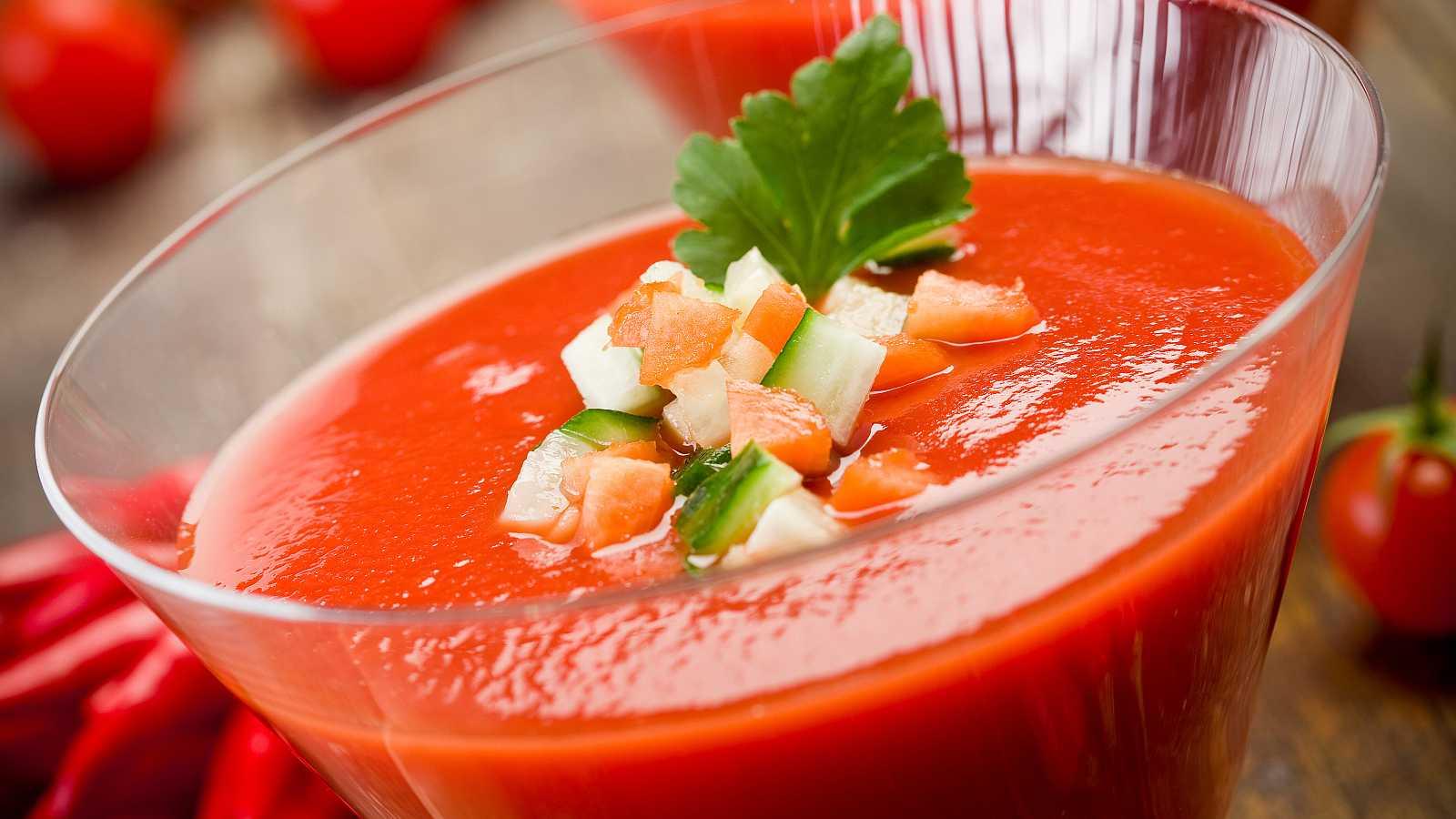Las mejores recetas de gazpacho para el verano en RTVE.es