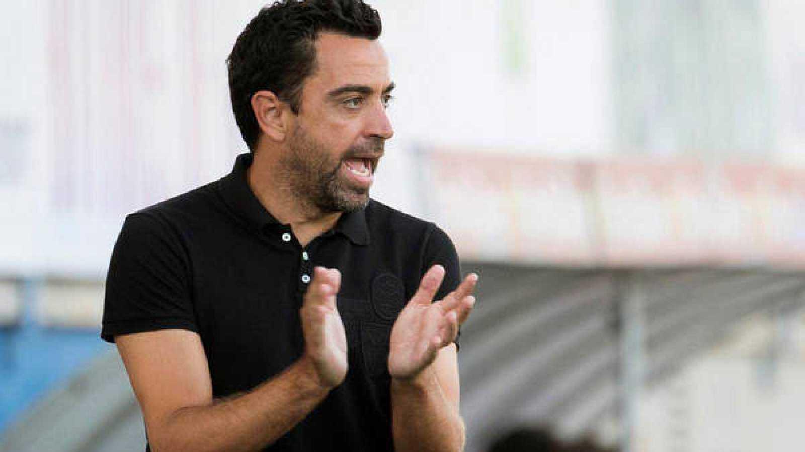Imagen: Xavi Hernández, entrenador del Al Sadd catarí