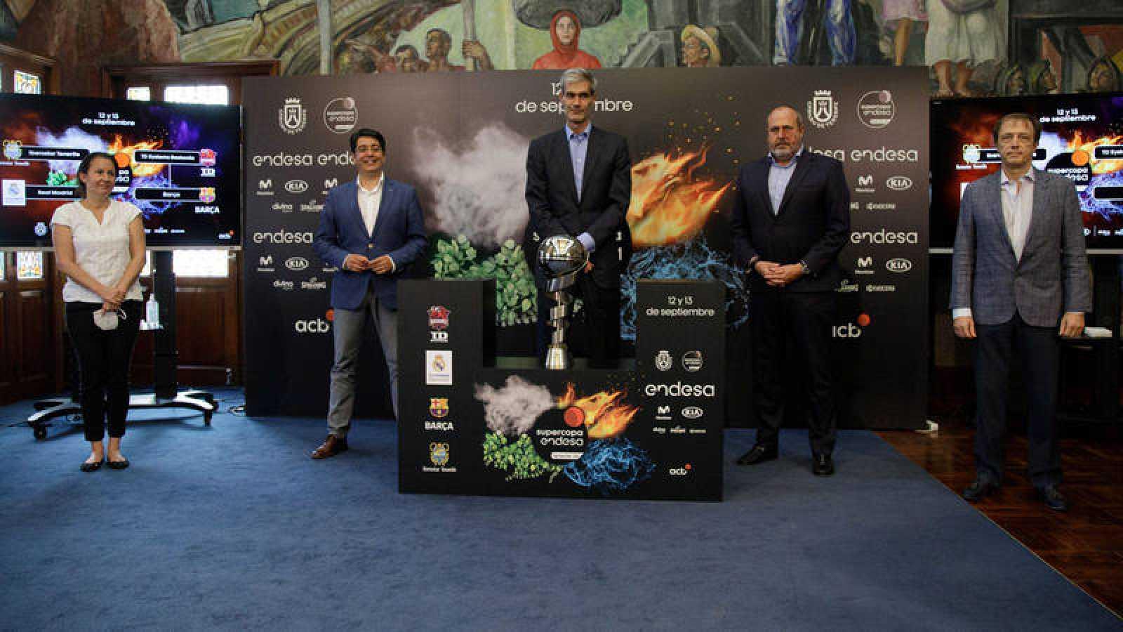 Baskonia-Barça y Real Madrid-Iberostar Tenerife, semifinales de la Supercopa
