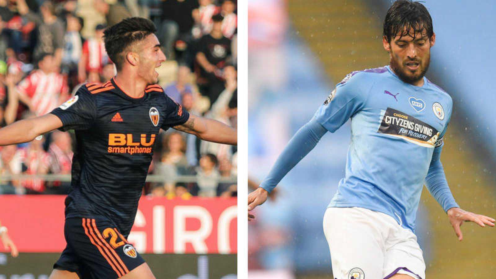 Ferrán Torres y David Silva