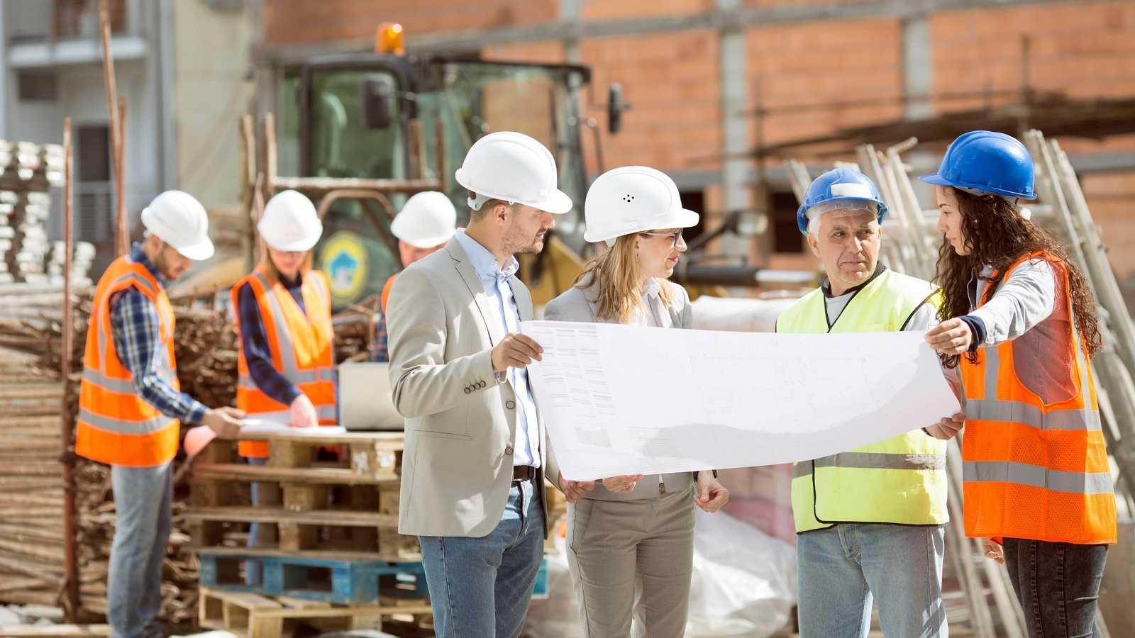 Mujeres en la construcción