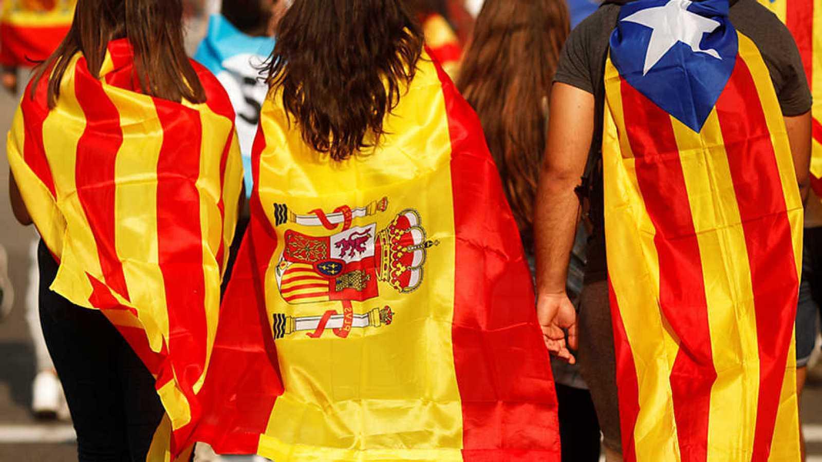 El no a la independencia gana al sí en Cataluña