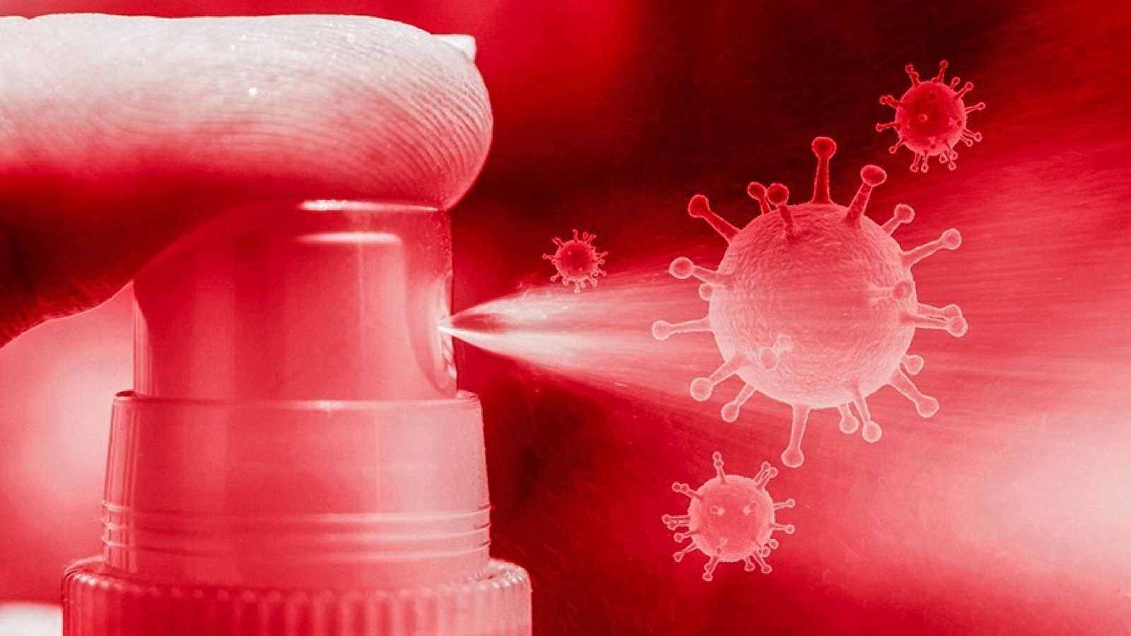 Un spray anti COVID, la nueva investigación del CSIC para 'engañar' al virus y detener la infección