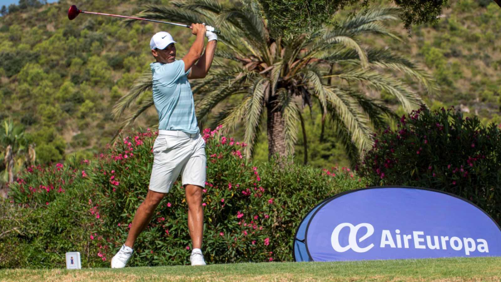 Imagen: El tenista Rafa Nada sigue mejorando su golf