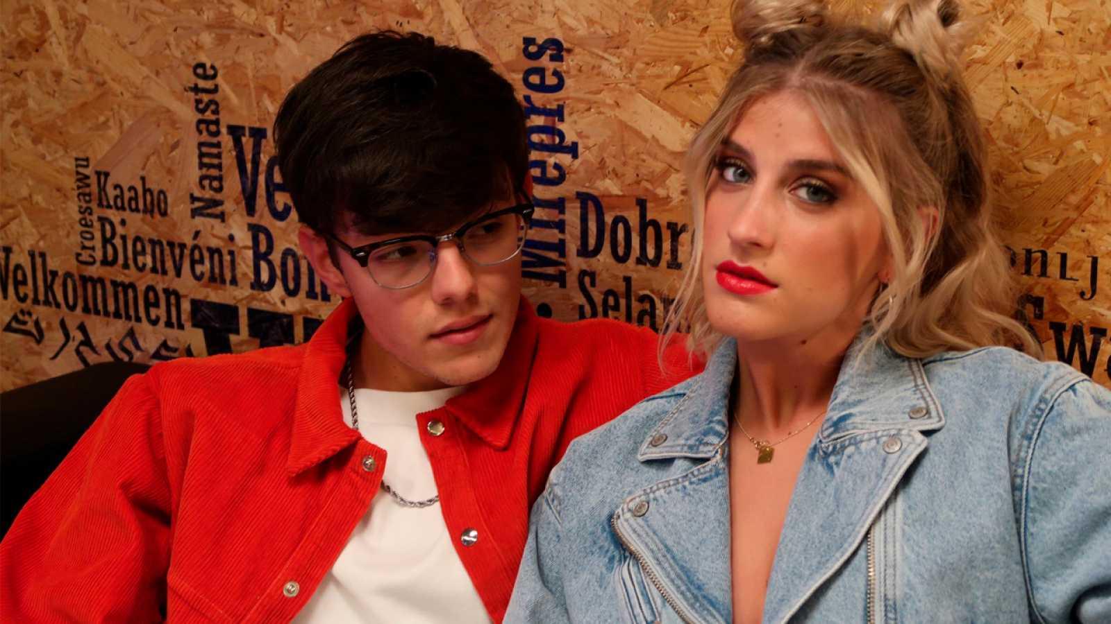 Samantha y Flavio en el Wizink Center de Madrid