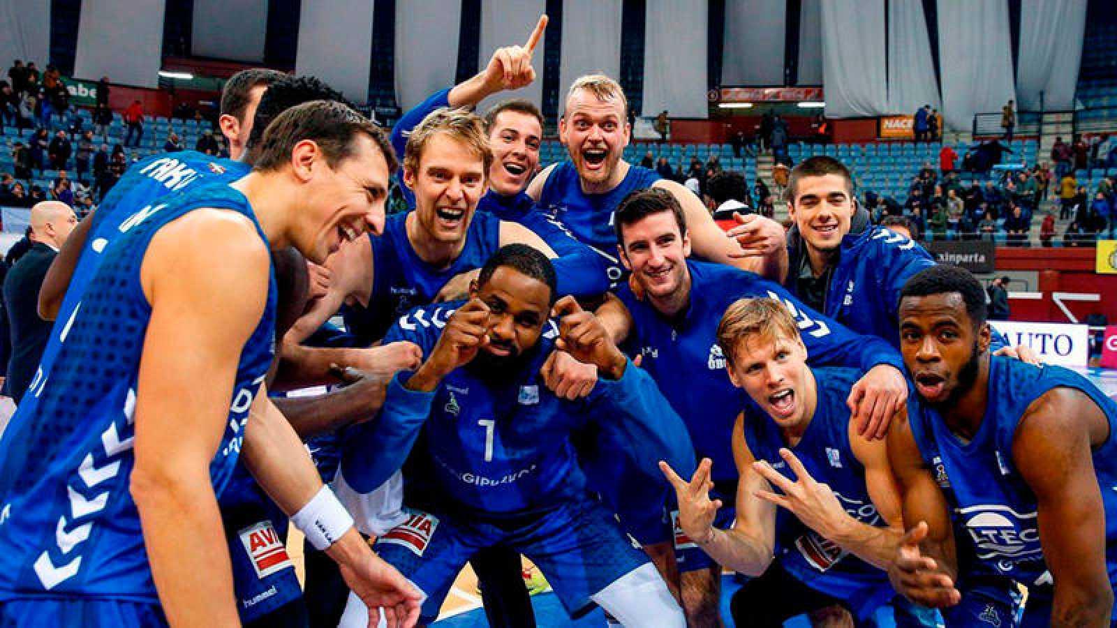 El Gipuzkoa Basket, en la campaña pasada