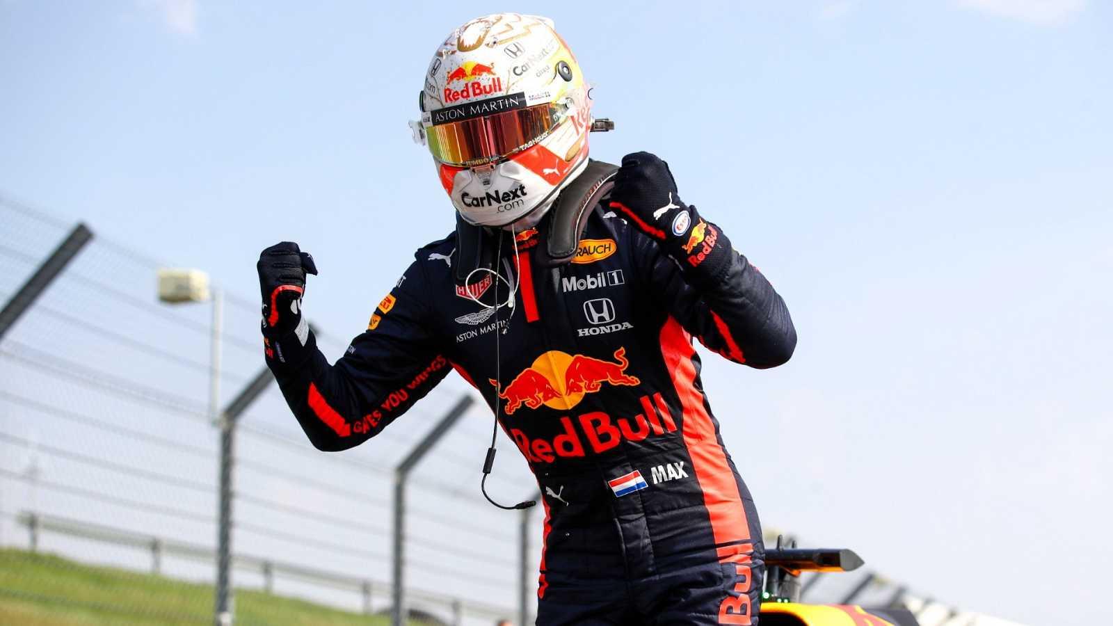 Max Verstappen gana el Gran Premio 70 Aniversario