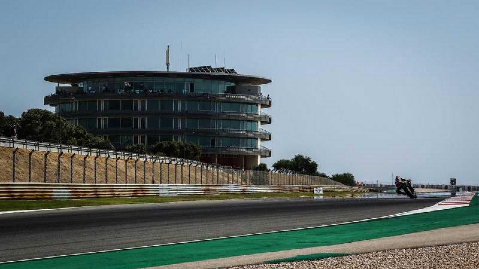 Imagen del circuito de Portimao, Autódromo Internacional del Algarve.