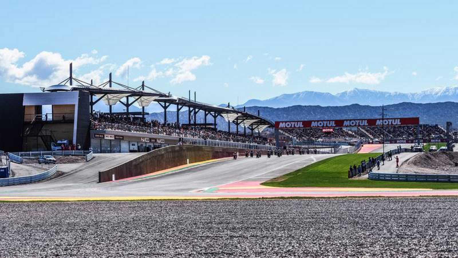 Imagen del circuito de San Juan en Argentina.