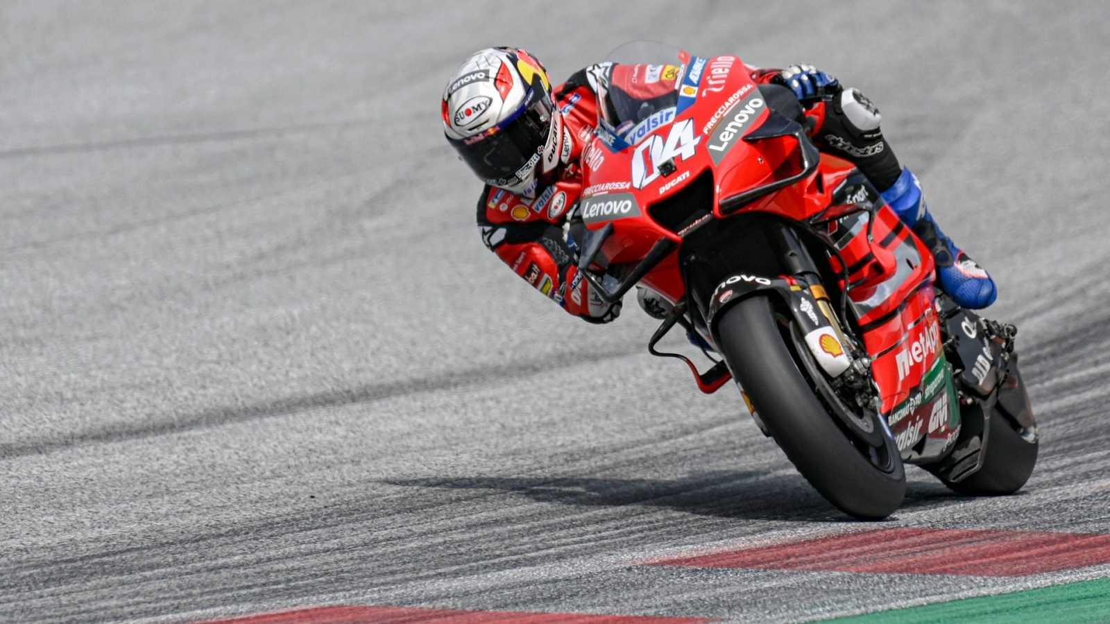 Andrea Dovizioso (Ducati) se lleva el GP de Austria
