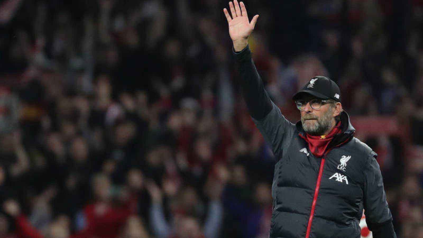 El entrenador del Liverpool, el alemán Jurgen Klopp.