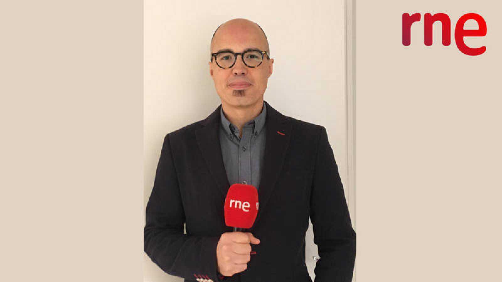 Jordi Barcía Antelo, corresponsal de RNE en Roma