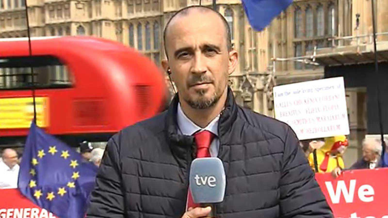 Diego Arizpeleta de la Calle, corresponsal de RNE en Londres