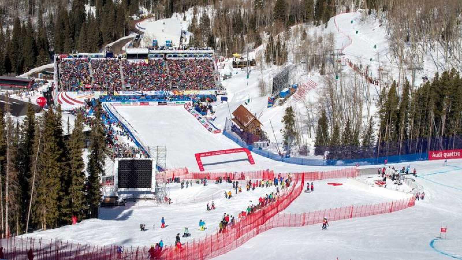 Imagen de la estación de esquí de Beaver Creek, Colorado, USA.