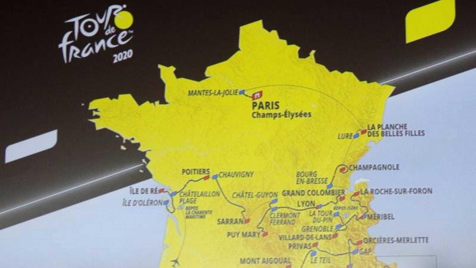 Imagen de archivo de la presentación del Tour 2020.