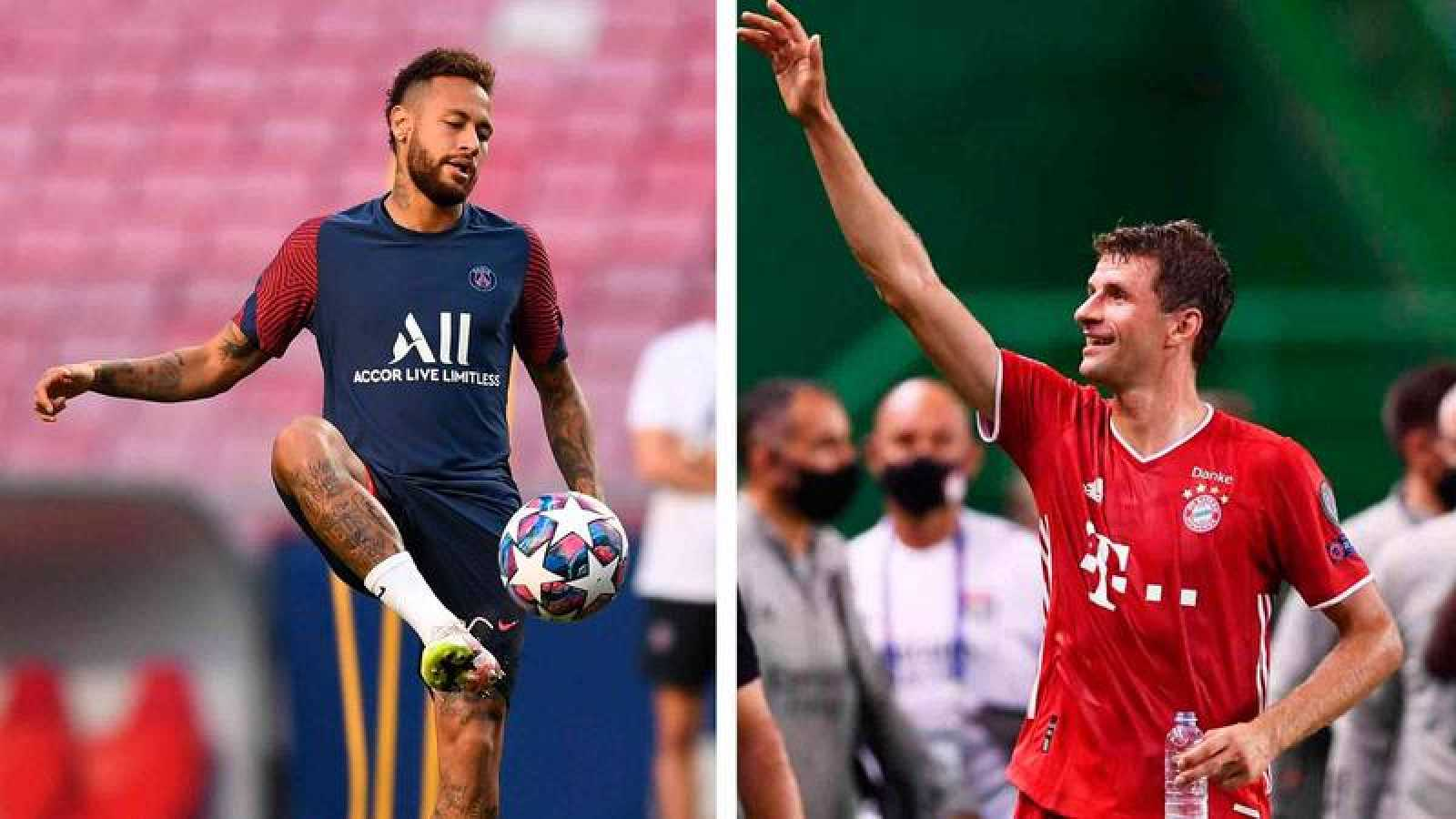 Neymar y Müller