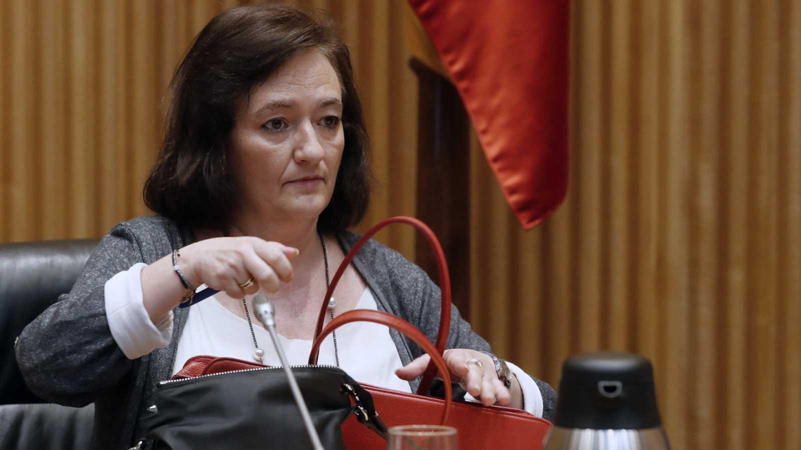 La presidenta de la Autoridad Independiente de Responsabilidad Fiscal (AIReF), Cristina Herrero en una foto de archivo