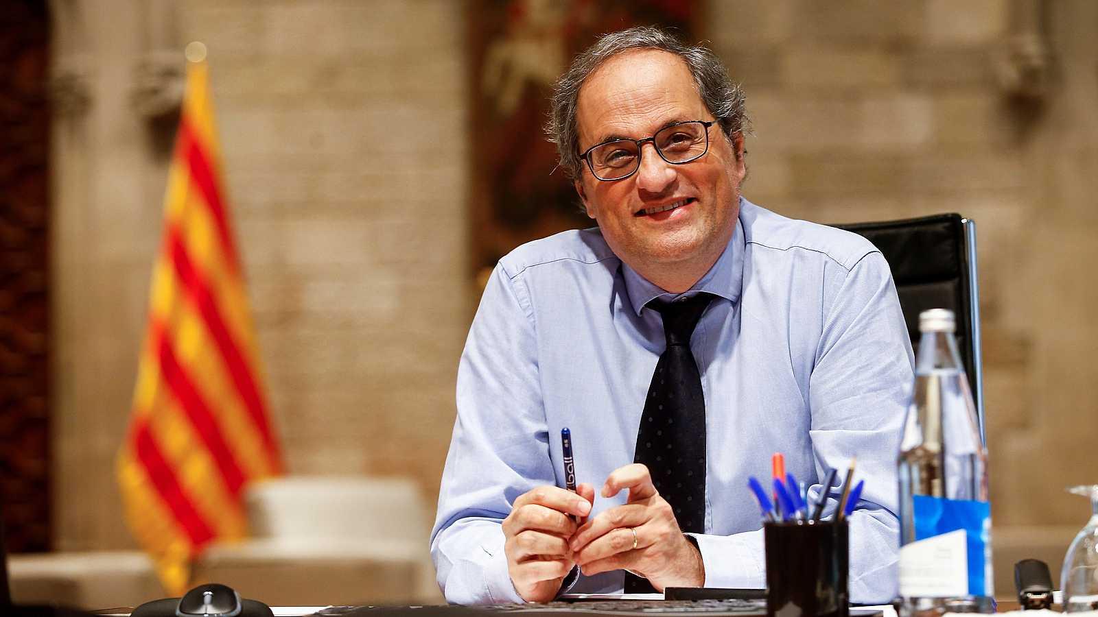 El presidente de la Generalitat de Cataluña, Joaquim Torra.