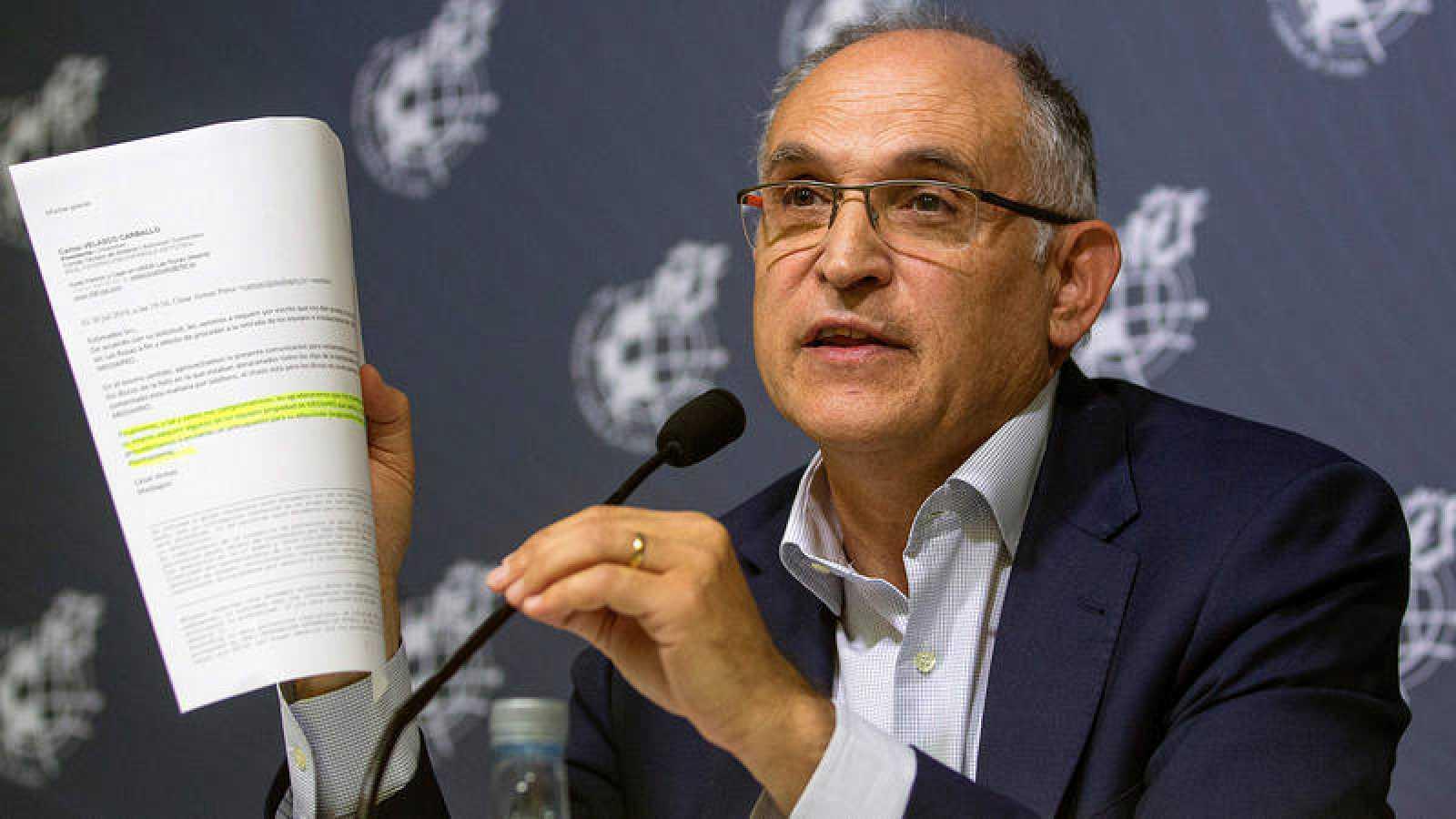 El secretario general de la RFEF, Andreu Camps.