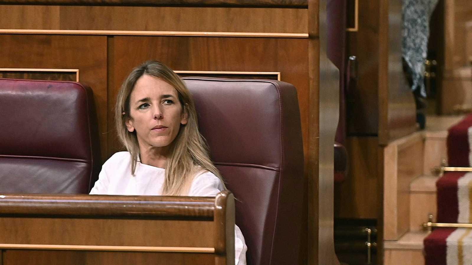 La ya exportavoz del Partido Popular en el Congreso, Cayetana Álvarez de Toledo, durante un pleno en la Cámara Baja