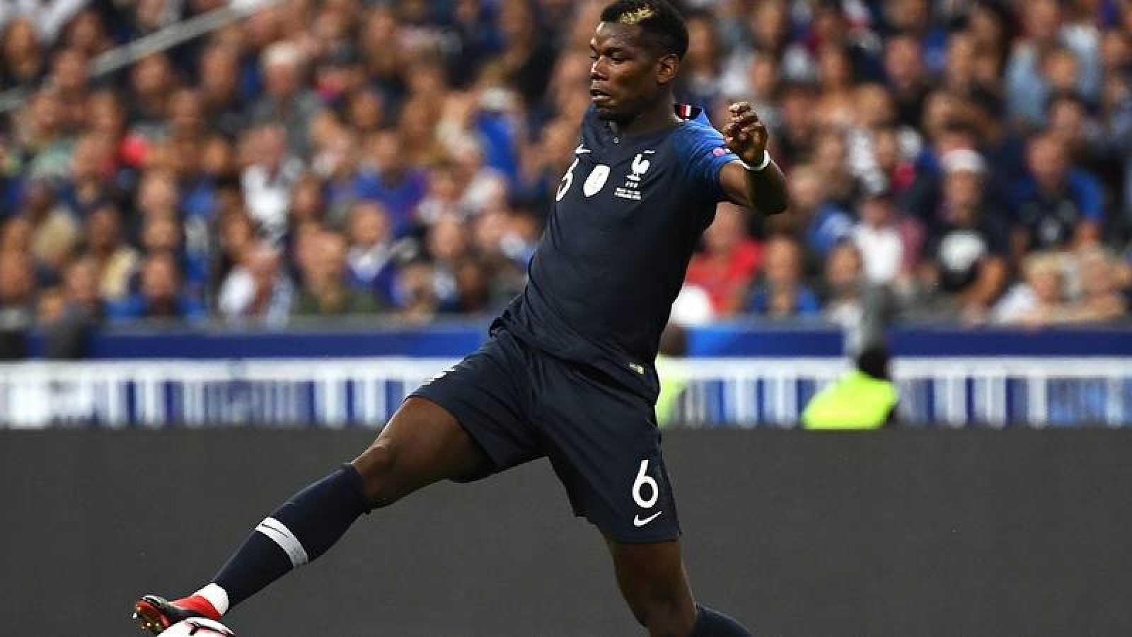 Imagen de archivo de Paul Pogba con la selección francesa.