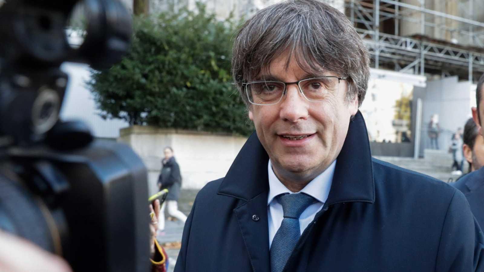El expresidente de Cataluña, Carles Puigdemont, en una imagen de archivo.