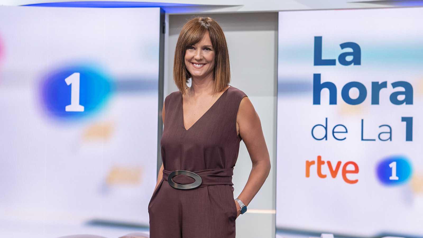 Mónica López, presentadora de La Hora de La 1