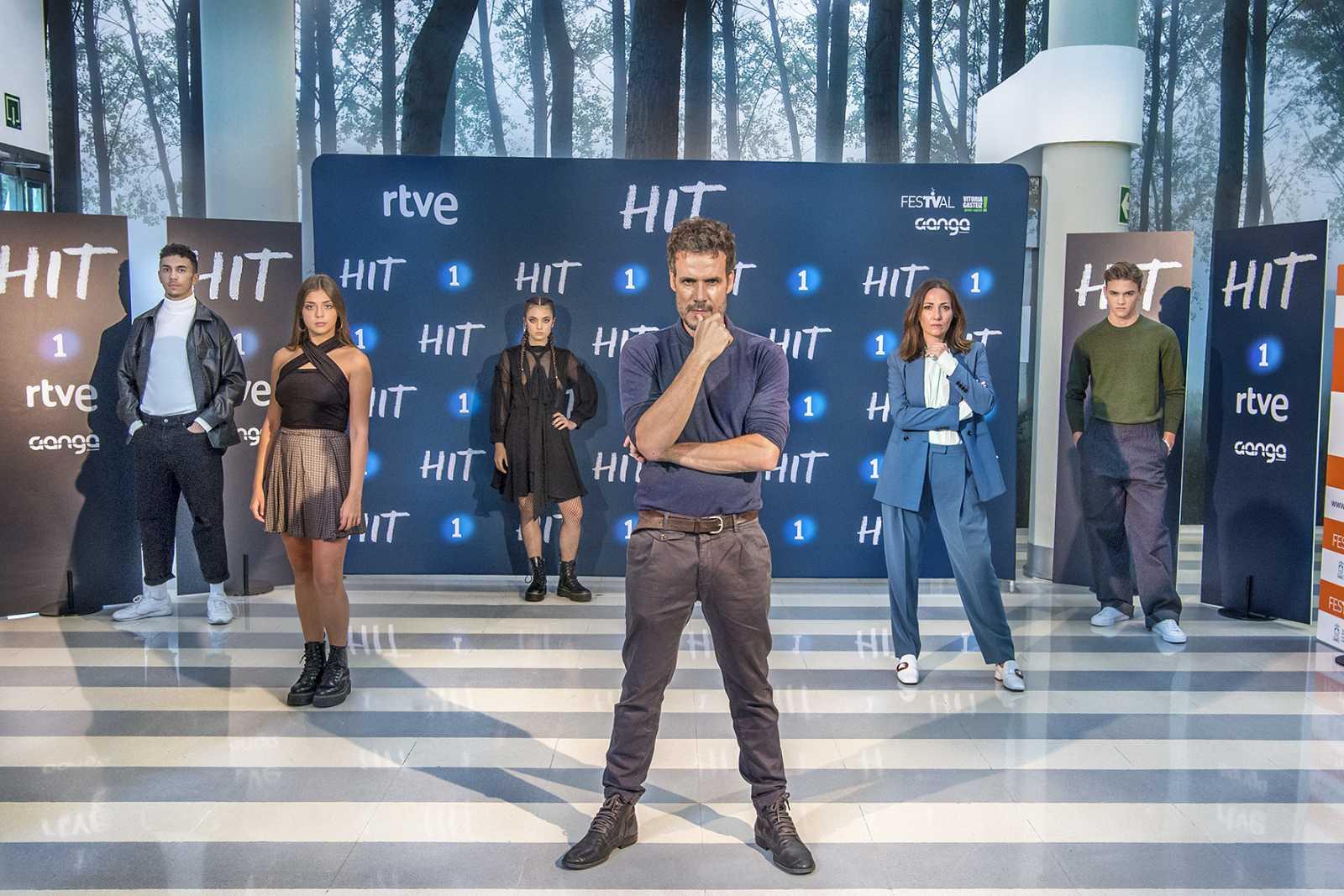 Elenco de 'HIT' en el FesTVal